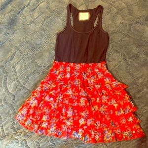 Abercrombie & Fitch Girl's Floral Dress M